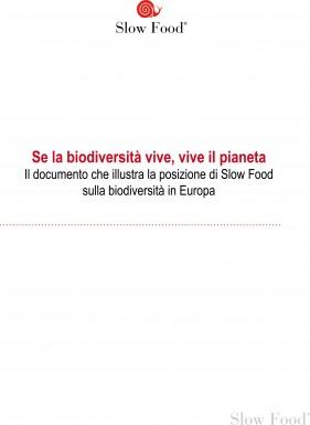 La biodiversità: un documento di posizione