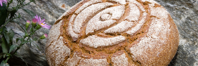Traditional Valais Rye Bread