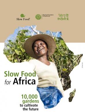 10.000 orti in Africa Libretto inglese