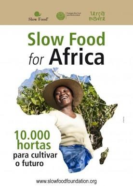10.000 orti in Africa  Poster portoghese