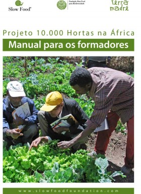 10.000 orti in Africa Manuale portoghese