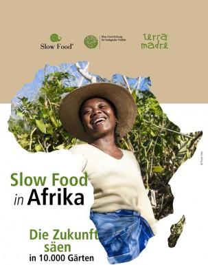 10.000 orti in Africa  Libretto tedesco