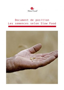 Les semences selon Slow Food