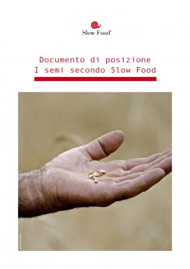I semi secondo Slow Food