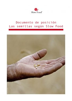 Las semillas segun Slow Food