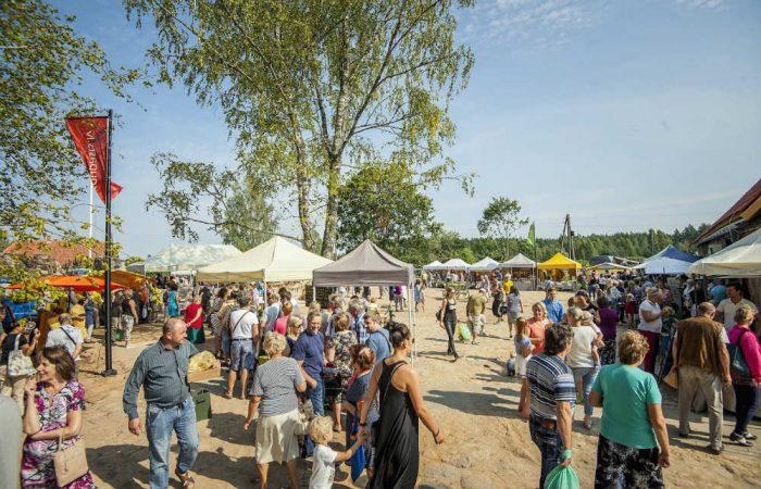 Grande successo di pubblico  per il Mercato della Terra di Straupe in Lettonia