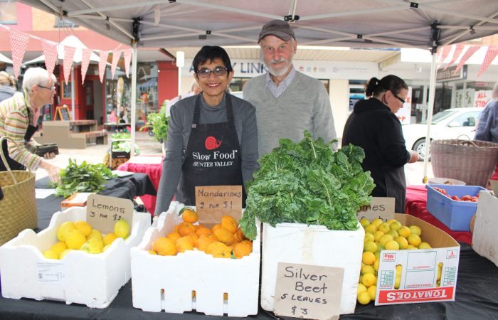 A market to reconnect a community with its rural roots