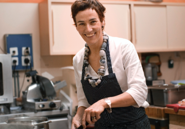 Cooks' Alliance Recipe from Switzerland: chef Sandra Defanti