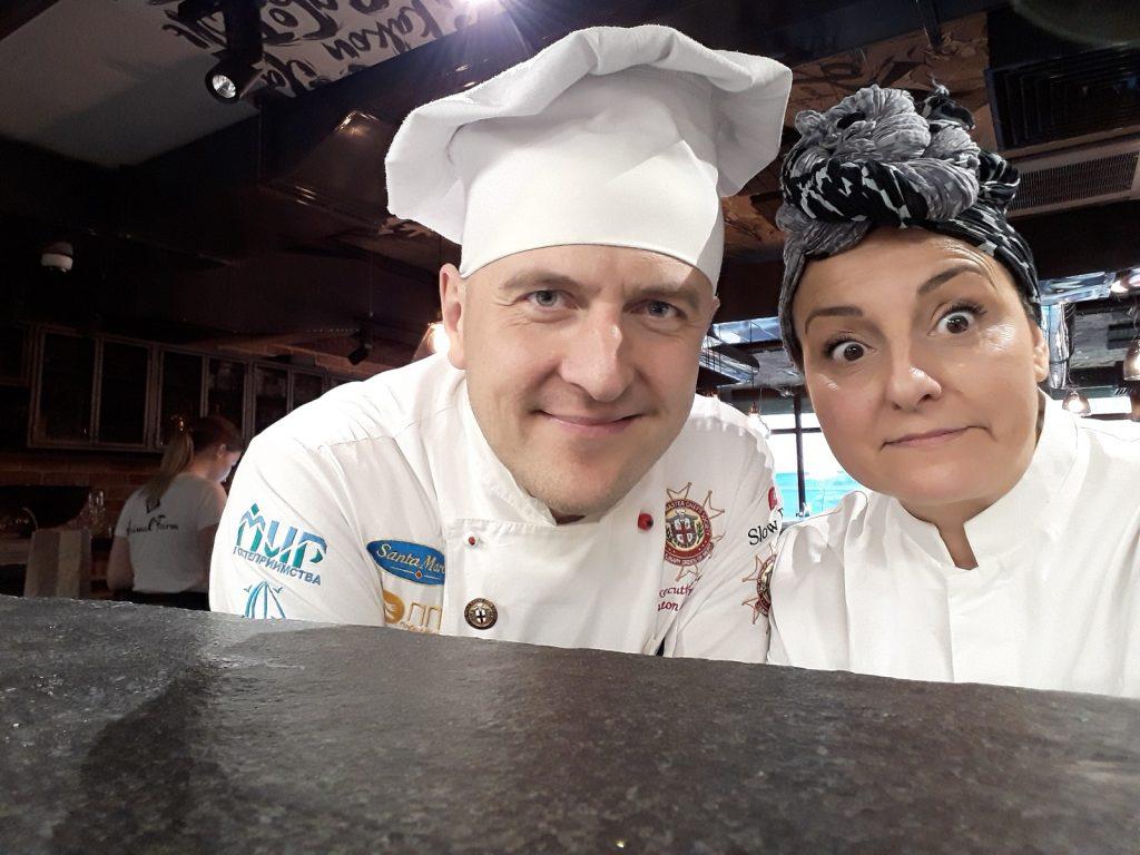 Tiziana Favi e Anton Kalenik