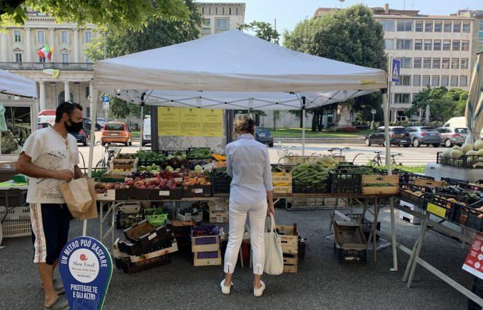 Il Mercato della Terra di Bergamo, esempio virtuoso di ripartenza